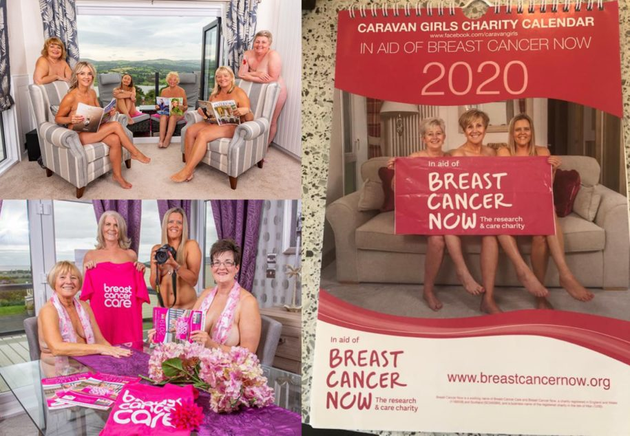 Caravan Girls Charity Calendar in Aid of Breast Cancer