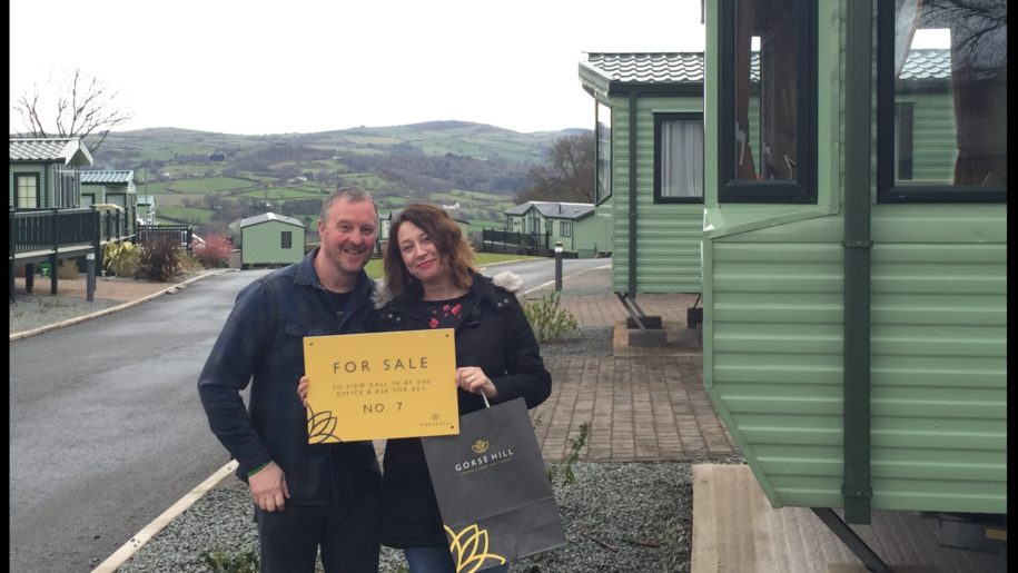 Congratulations To Mr & Mrs Holmes on your new holiday home in Conwy....!!!!