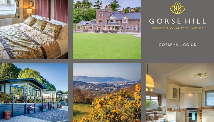 Gorse Hill Caravan and Lodge Park, Conwy now live on Facebook and Twitter