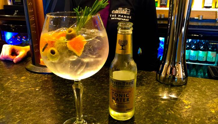 Oh my goodness,  our all new Gin Mare and Tonic is so Tasty....!!!!